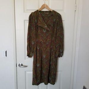 Liz Claiborne Colorful Pattern Dress Size 8